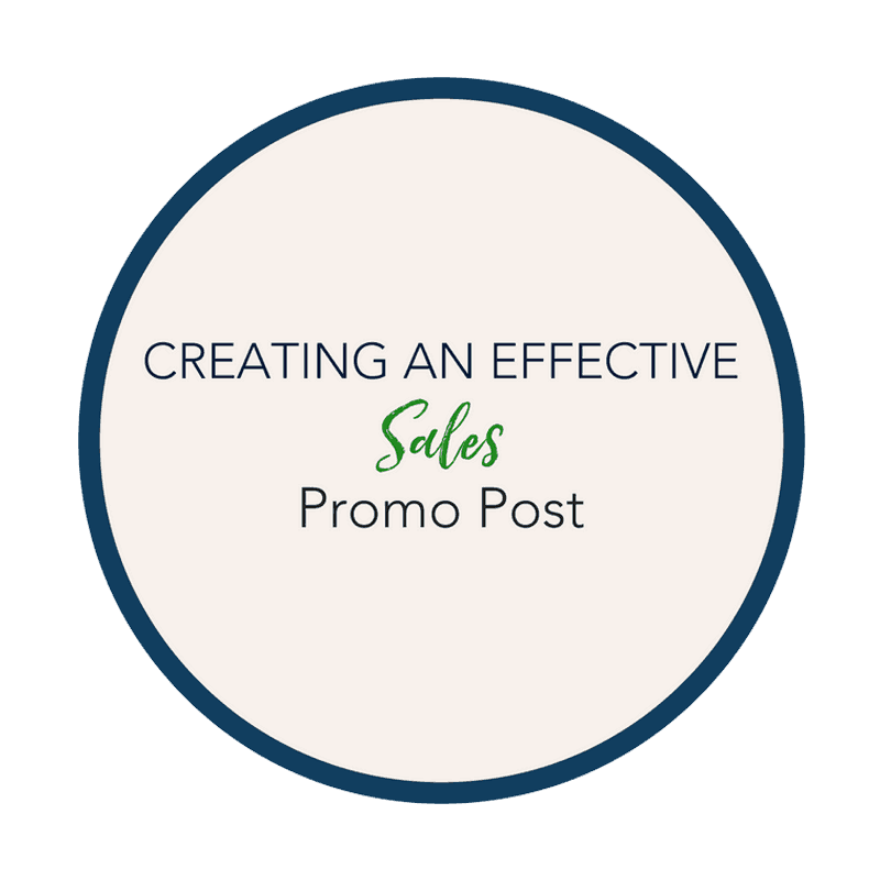 PROGRAMS-CREATE EFFECTIVE SALES PROMO POST