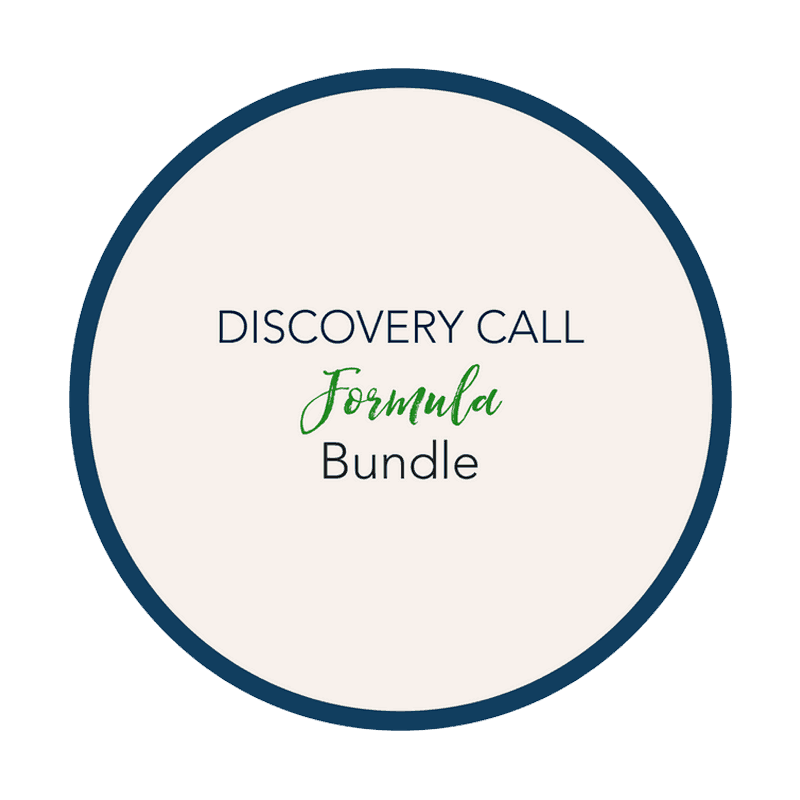 PROGRAMS-DISCOVERY CALL FORMULA BUNDLE