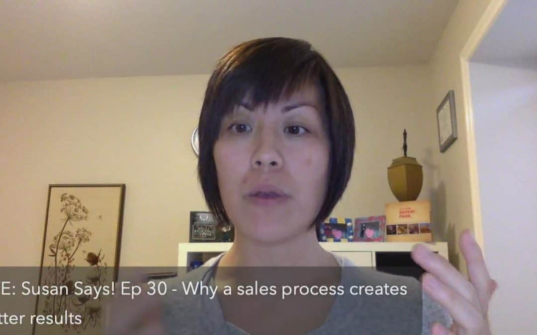 Why a sales process creates better results in your business