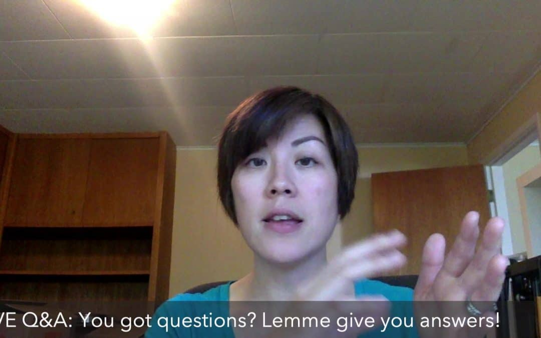 LIVE Q&A: You got questions? Lemme help you!